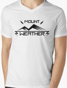 Mount Weater Mens V-Neck T-Shirt