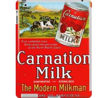 Vintage poster - Carnation Milk iPad Case/Skin
