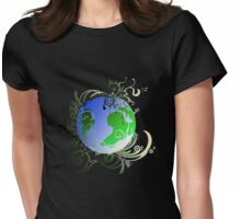 Garden Planet Womens Fitted T-Shirt