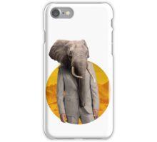 Sir Elephant iPhone Case/Skin