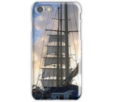 Square sails on Star Flyer iPhone Case/Skin