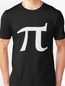 Pi symbol for pi day Unisex T-Shirt