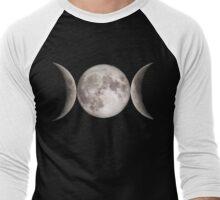 Triple Moon Men's Baseball ¾ T-Shirt