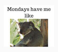Mondays Have Me Like One Piece - Short Sleeve