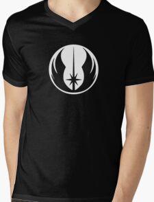 Jedi (white) Mens V-Neck T-Shirt