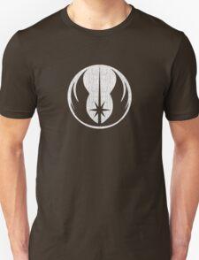 Jedi (white, distressed) Unisex T-Shirt