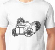 Mandala Camera Unisex T-Shirt
