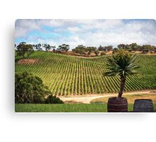 Southern Vineyard (ED) Canvas Print
