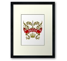 The Queen Coat-of-Arms Framed Print