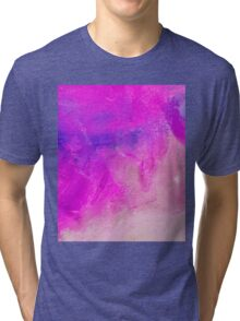 Accurate Pink Hue Tri-blend T-Shirt