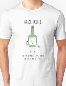Grace Helbig Minimalist Design Unisex T-Shirt