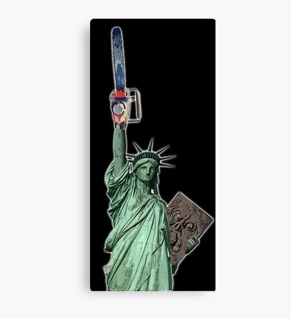 Give me some liberty baby Canvas Print