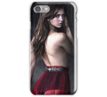 Elena Gilbert Nina Dobrev The Vampire Diaries iPhone Case/Skin