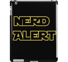 Nerd Alert Star Wars Font iPad Case/Skin