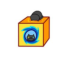 Neko Atsume - Pepper (Now You're Thinking With Portals) by TheFishGod