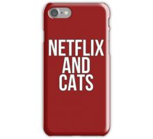 Netflix And Cats iPhone Case/Skin