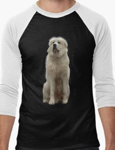 The Great Pyrenees mountain dog Men's Baseball ¾ T-Shirt