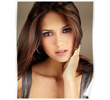 Elena Gilbert Nina Dobrev The Vampire Diaries by tumsir Poster