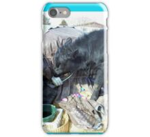 Easter Bovine Preparations iPhone Case/Skin