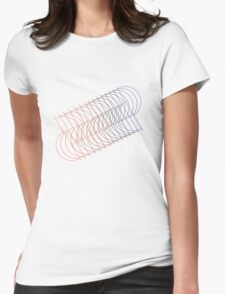 Weird Shapes.png Womens Fitted T-Shirt