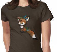 Kawaii Spirit Fox  Womens Fitted T-Shirt