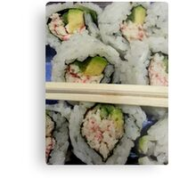 California Roll Metal Print