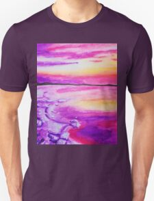 Purple sand Unisex T-Shirt