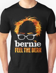 Flaming Bernie Shirt / Feel The Bern Shirt and Fundraising Gear T-Shirt