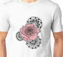 Mandala Rose Unisex T-Shirt