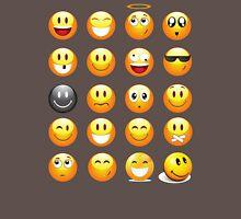 happy face emojis Unisex T-Shirt
