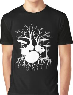 """Live the Beat to the Tempo of Creation"" ~ drum tree art , version1 Graphic T-Shirt"