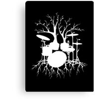 """""""Live the Beat to the Tempo of Creation"""" ~ drum tree art , version1 Canvas Print"""