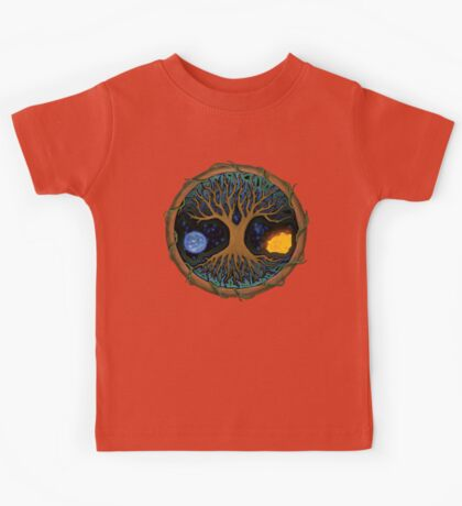 Astral Tree of Life Kids Tee