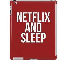 Netflix And Sleep iPad Case/Skin