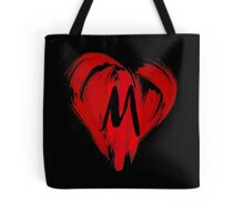 M - GRAFFITI HEART Tote Bag
