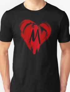 M - GRAFFITI HEART Unisex T-Shirt