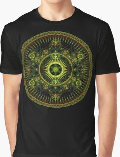 Metatron's Magick Wheel ~ Sacred Geometry Graphic T-Shirt