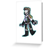 zane Greeting Card