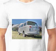 White bay window Volkswagen Kombi at Volksfest 2015 Unisex T-Shirt