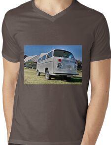 White bay window Volkswagen Kombi at Volksfest 2015 Mens V-Neck T-Shirt