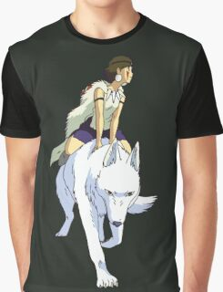 Mononoke riding Graphic T-Shirt