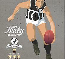 Sticker 18 - Bucky Cunningham by Chris Rees
