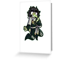 cole ninjago Greeting Card