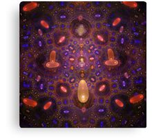 Germs in Space Canvas Print