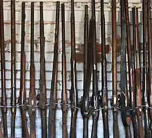Antique Rifles & Muskets by Laurie Puglia