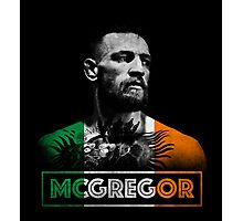 Conor McGregor (Tri) Photographic Print