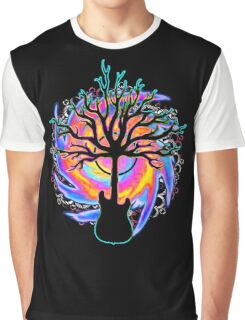 """""""Psychedelic Sonic Cyclone""""   ( surreal guitar tree art) Graphic T-Shirt"""