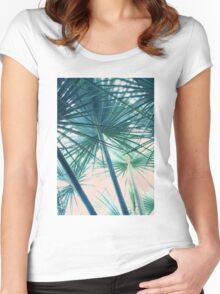 Tropical V3 #redbubble #decor #tech #style #fashion Women's Fitted Scoop T-Shirt