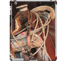 Tack & Saddle iPad Case/Skin