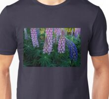 Springtime with Lupins  Unisex T-Shirt